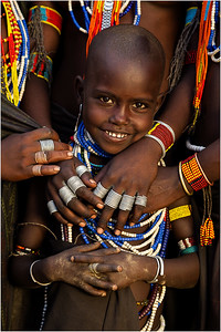 It Takes a Village - Young Arbore Girl (Ethiopia)