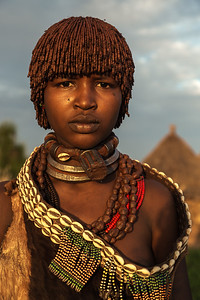 Hamar Woman  (Ethiopia)