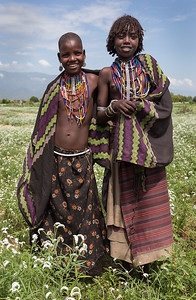Young Arbore Girls   (Ethiopia)