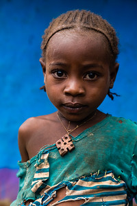 Stitched Together - Young Ari Girl   (Jinka, Ethiopia)