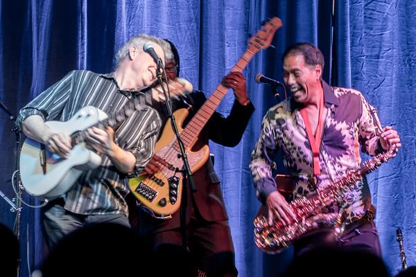 Peter White, Gregg Karukas, Michael Paulo