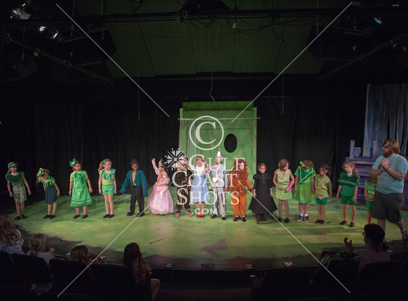 HITS Theatre's BB4 (Broadway Beginnings) cast rehearses the Wizard of Oz.
