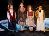 HITS Theatre opens their stage to photography during a live performance of Annie Jr at their historic theater in the Heights section of Houton. Pictured is the Broadway Beginnings 3 class (BB3).