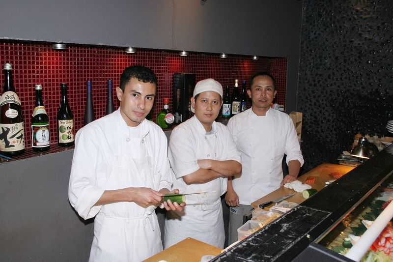 "Tim and I got hooked on the Sushi Bar at <a href=""http://www.akairosushi.com""> AKAIRO</a> restaurant.  Benny and his assistants prepared wonderful sushi and sashimi for us and we ate with gusto.  It was a great evening."