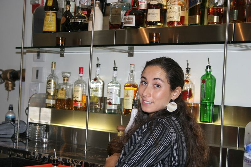 "This is Cynthia who was our bar maid at the <a href=""http://www.winterhavenhotelsobe.com/"">Winterhaven hotel.</a>   She was a lot of fun and made great martinis.  She is working to put herself through school.  She made the evening very memorable.  Captain Al Lorenzetti"