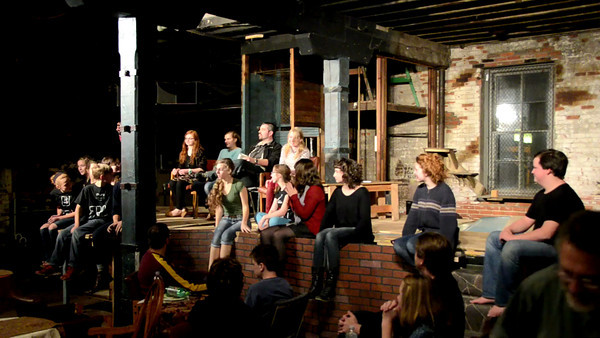 Post-performance discussion with the cast, directors, and attending playwrights.