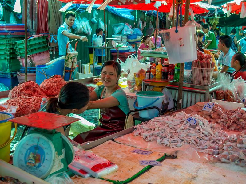 Market, Bangkok, Thailand, 2012