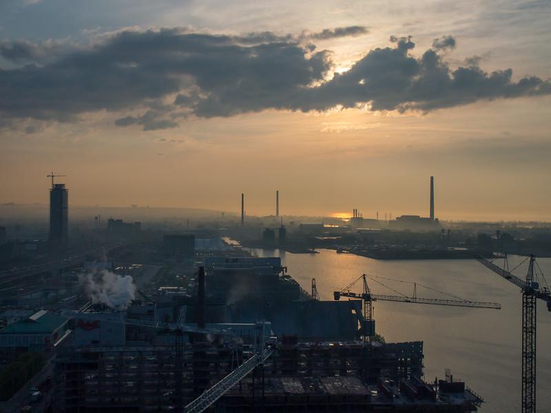 Sunrise, Toronto, Canada, 2012