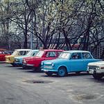 Trabant Heaven, East Berlin, East Germany, 1986