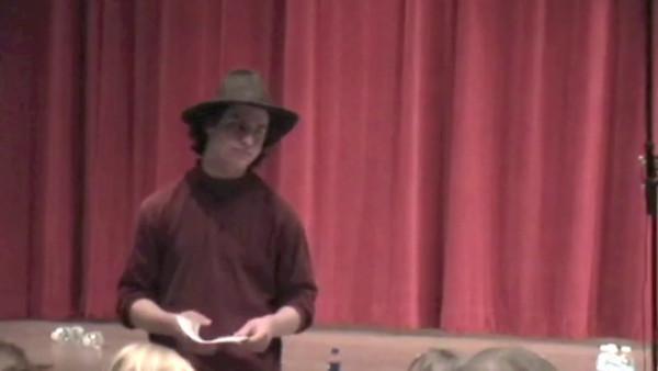 2010-03 Thornton Wilder Performance Video
