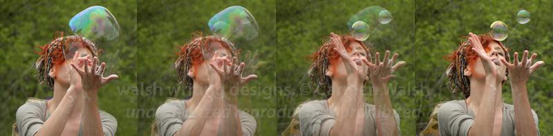 Blowing Bubbles (2012 Fairie Festival)