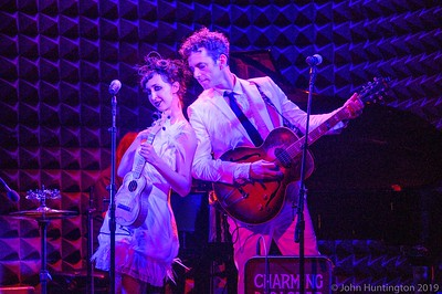 Charming Disaster at Joe's Pub, August 22, 2019 (c) John Huntington