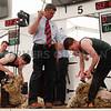 Competing in the Junior Sheep Shearing Final at Balmoral Show. Photograph: Columba O'Hare