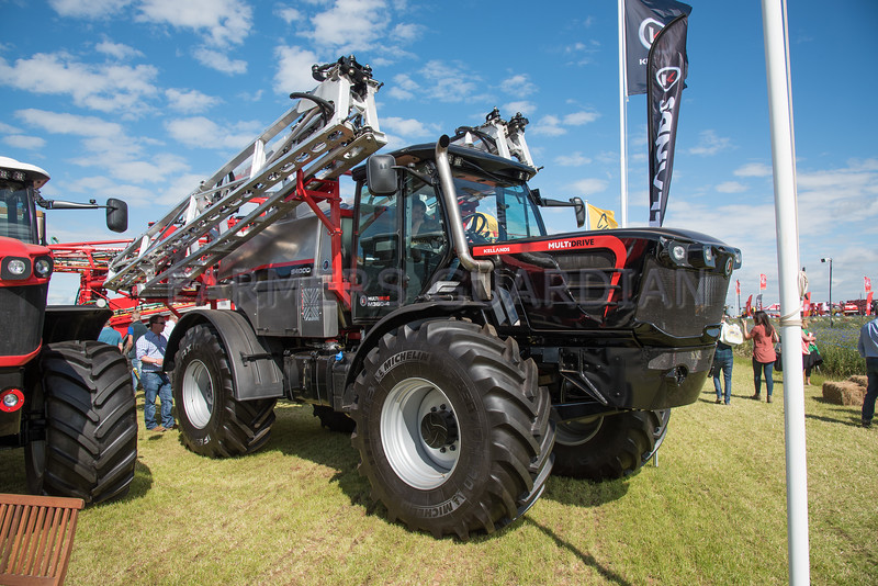 Kellands Multidrive sprayer.