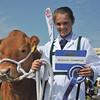 Reserve champion young handler Beth Wilkinson