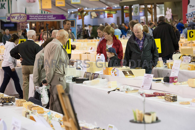 Scenes from the Nantwich International Cheese Show.