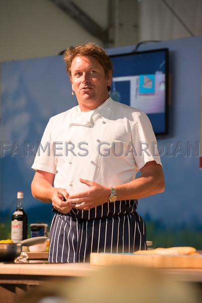 Celebrity chef and TV presenter James Martin.