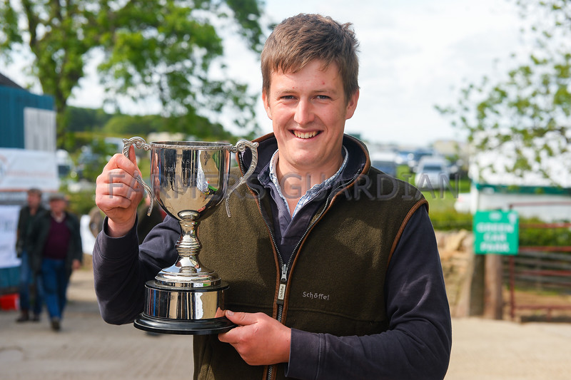 Young Shepherd winner Robert Walker.