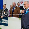 Winter Fair Judge, Brian Behnke from USA talks about his winner on the day. Photograph: Columba O'Hare/ Newry.ie
