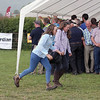 Ref Barry Alston Photo Arvid Parry Jones.  ( Pic 22 )<br /> Rogue afternoon shower sent spectators scurrying for cover.