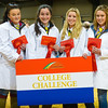 Winners of the College Challenge left to right Pippa Jackson, Emily Watson, Lauren Rucklidg and Marian Porter of Askham Bryan college.