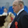 STARS OF THE FUTURE 6TH PEDIGREE CALF SHOW STIRLING MART SAT14TH NOV.  JUDGE LIAM MUIR, STENNESS,ORKNEY SEEN JUDGING,