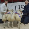 THAINSTONE CLASSIC 15 CHAMPION BUTCHERS LAMBS A PAIR OF BELTEX FROM STUART WOOD,WOODHILLOCK CROFT, SKENE, WESTHILL, ABERDEEN.