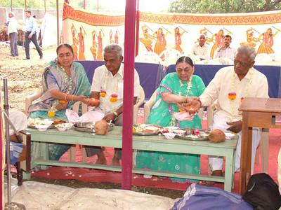 Paduka Pratishtha, Shree Santram Mandir, Varad(Feb 3 & 4, 2008)