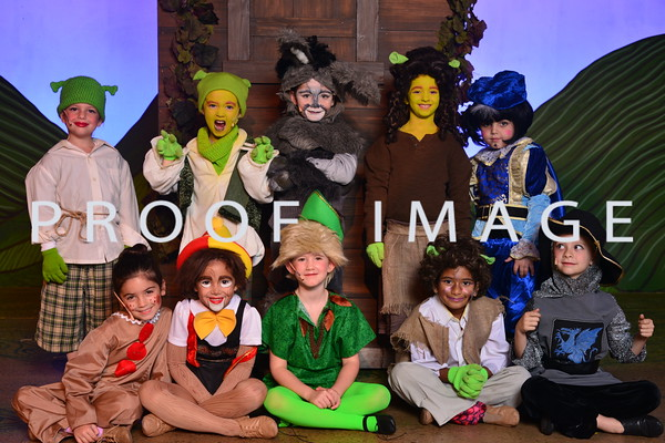 Saturday Pre-Primary - Shrek Cast
