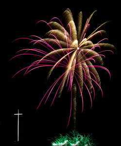 Fireworks at Louisiana Downs