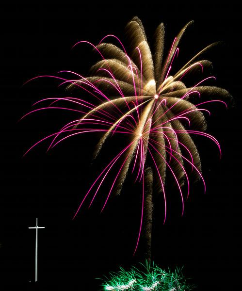 Fireworks at Louisiana Downs