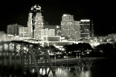 Shreveport Sky Line shot by Spayth Photography & Cinema by Spayth Photography & Cinema