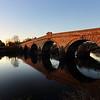 River Severn and bridge, Atcham, Shrewsbury.