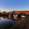 River Severn and bridge at Atcham, Shrewsbury.