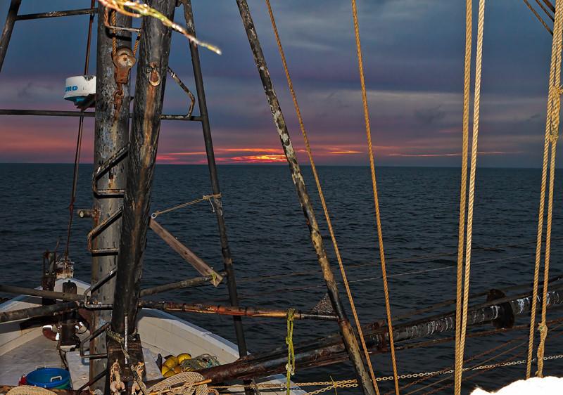 "Aboard ""The Poor Boy"" #7<br /> St. Helena Sound<br /> St. Helena Island, SC"
