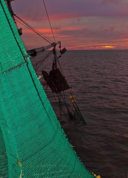 "Aboard ""The Poor Boy"" #6<br /> St. Helena Sound<br /> St. Helena Island, SC"