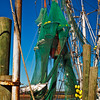 """Shrimp Nets at Rest""<br /> Village Creek<br /> St. Helena Island, SC"