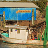 """Our Shrimp Come from Here""<br /> Lazarus Creek,<br /> Tybee Island, GA"