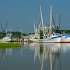 """Reflections""<br /> Gay Fish Company docks<br /> St. Helena Island, SC<br /> This photo was featured as the Beaufort, SC Hargray phone book cover."