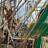 """Nets Ready for Tomorrow""<br /> Shrimpboat Docks<br /> McClellanville, SC"