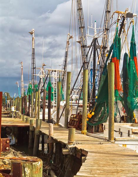Shrimpboat Docks<br /> McClellanville, SC