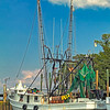 """The Miss Kathy""<br /> Village Creek docks<br /> St. Helena Island, SC"