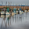 """Portrait of a Dock""<br /> Shrimpboat Docks<br /> Darien, GA"