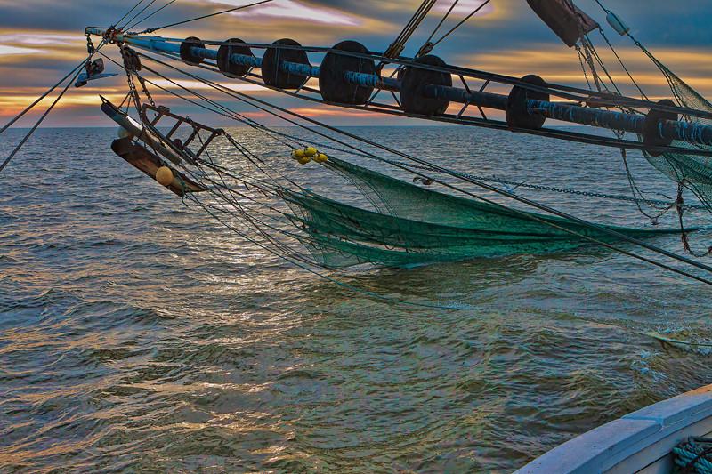 "Aboard ""The Poor Boy"" #1<br /> St. Helena Sound<br /> St. Helena Island, SC"
