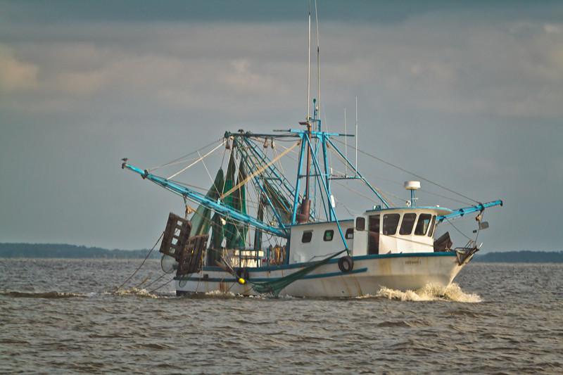 Shrimp Boat<br /> St. Helena Sound<br /> St. Helena Island, SC