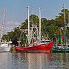 """Shrimpboat Rainbow""<br /> Village Creek<br /> St. Helena Island, SC"