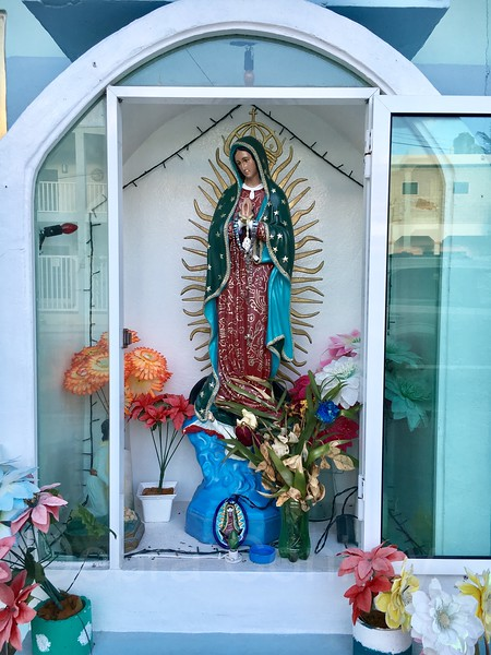 Home shrine, Puerto Morelos, Yucatan Peninsula, Mexico