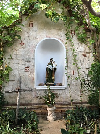 Shrine of St. Anthony & Jesus, Puerto Morelos, Yucatan Peninsula, Mexico