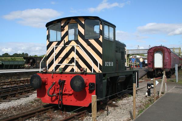 D2858 at Swanwick. 20.07.08