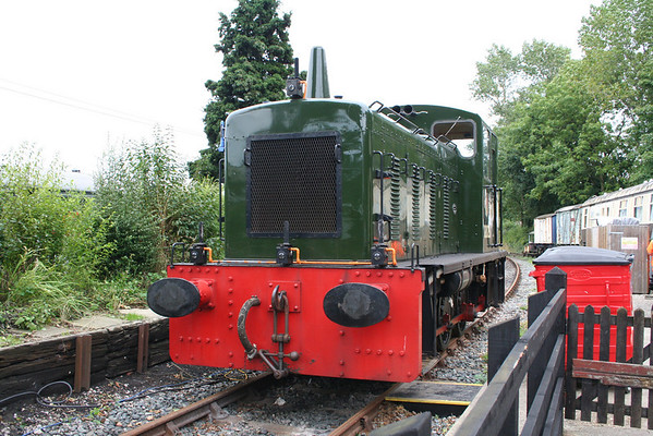 03023 at Tenterden on the Kent & East Sussex R ailway.  07.09.08